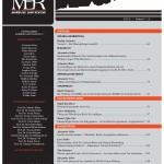 MLR 2/2013 ist erschienen