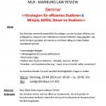 Seminar am 29.04.2014