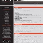 Die neue MLR 1/2014 ist erschienen!